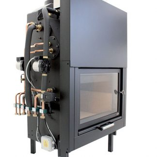 Termocamino a biomassa Sithec Ecomultiflex Plus + RSVC
