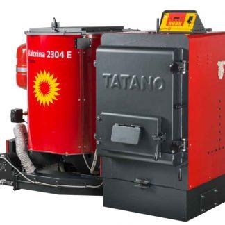 Caldaia Tatano Kalorina serie 23 Combustibili: Chips di legna Pellet di legna Segatura Trucioli Legna Sansa Nocciolino Gusci triti Cereali mod. BK