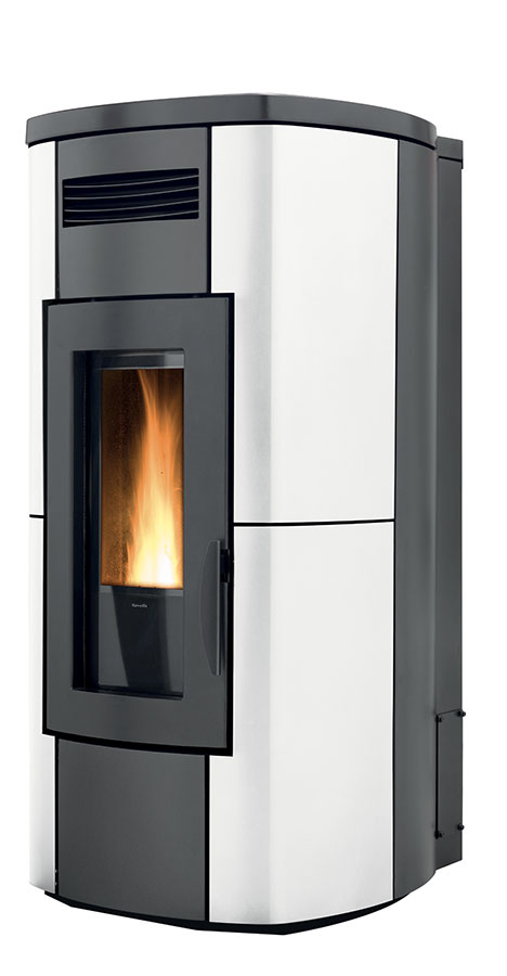 Ravelli hrv 200 touch riscaldamento a legna e pellet for Parametri stufa pellet ravelli