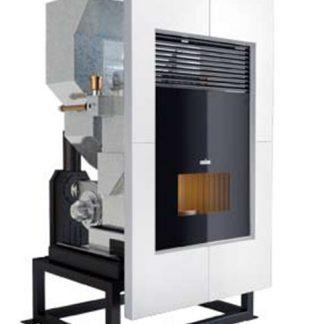 Riscaldamento a legna e pellet termostufe termocamini for Vulcano termocamini pellet